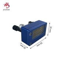 หมึก UV curing โคมไฟขนาดเล็ก 395nm สำหรับ Epson หัว DX5 เครื่องพิมพ์หน้าจอการพิมพ์เครื่องพิมพ์ UV 365nm UV กาว curing
