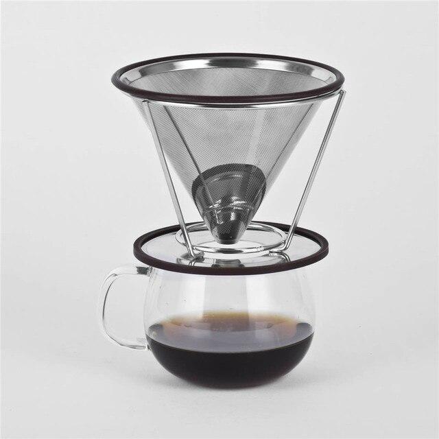 בנפט נירוסטה קפה יוצק מעל מכונת קפה טפטף קפה פילטר טפטוף מסנן קפה SW-65
