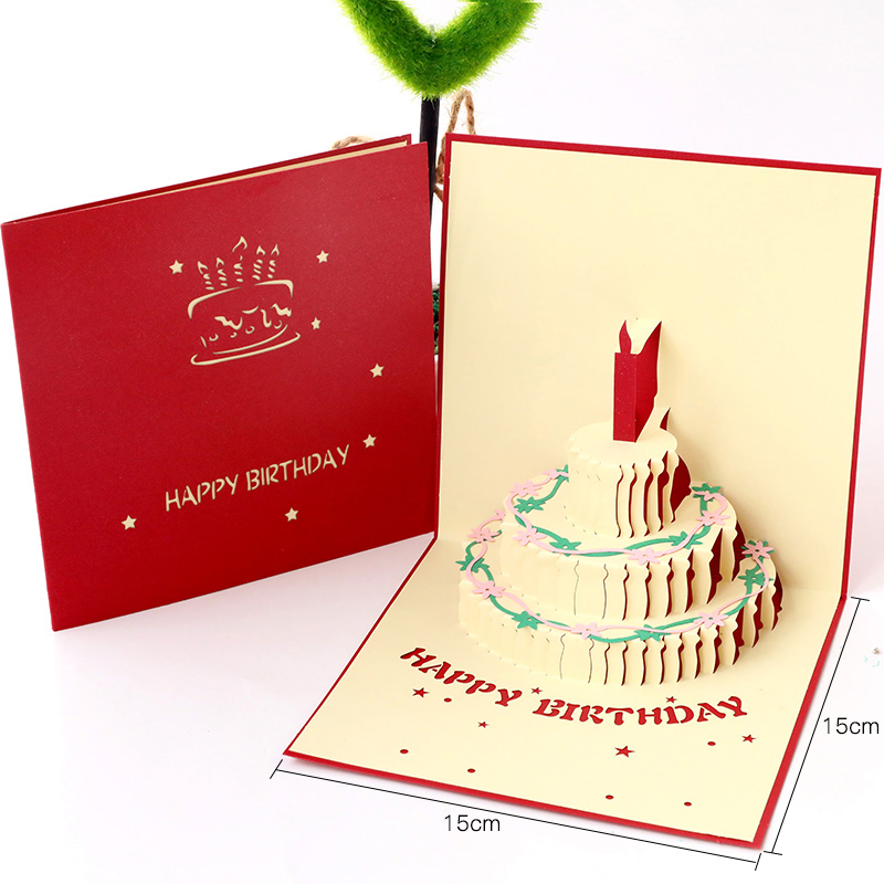 Birthday Cards Stereo Staff Custom Send Boys Korean Creative Handmade Gifts For Writing Music Blessing Small In Invitations From Home Garden