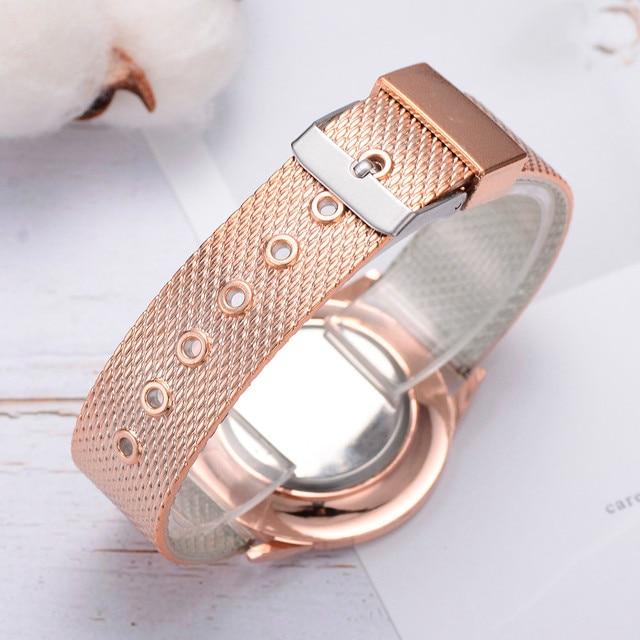 Lvpai 2019 Famous Brand Gold Silver Casual Quartz Watch Women's Casual Quartz Silicone strap Band Analog Wrist watch 3