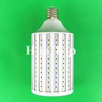 O wysokiej jasności 100 W żarówka LED E40 264 diody LED 5630 5730 SMD żarówka corn AC 220 V Bombillas ciepły biały zimny białe światło darmowa wysyłka w Żarówki i oprawy LED od Lampy i oświetlenie na