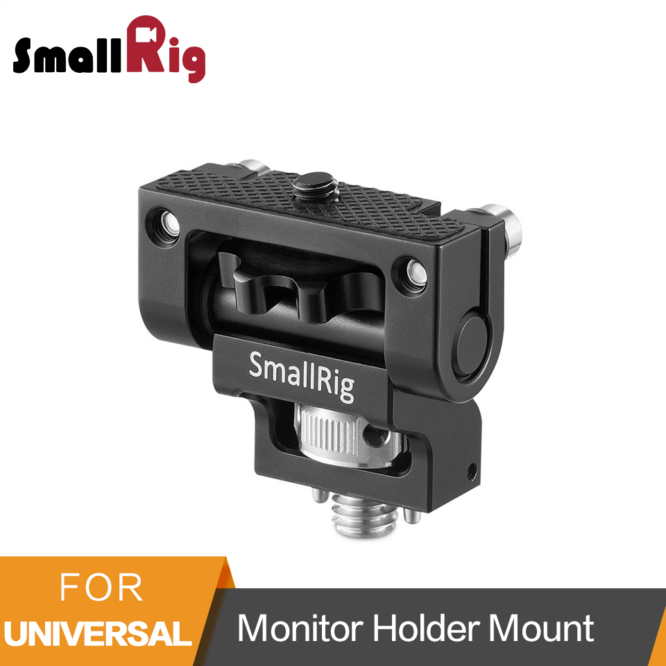 SmallRig Universal DSLR Camera Swivel Monitor Mount With Arri Locating Pins To Fix Monitor With Camera