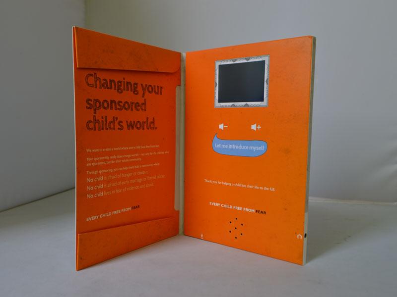 2.8 inch Innovative Video Greeting Card/Name Card, Custom Video ...