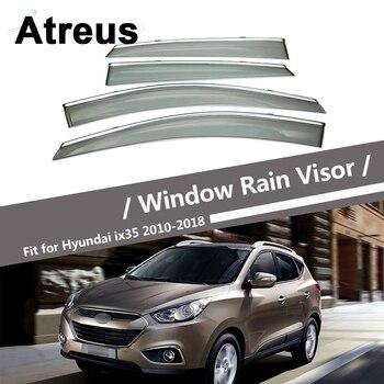 Atreus For Hyundai IX35 Tucson 2010 2011 2012 2013 2014 2015 2016 2017 2018 Car Door Smoke Window Sun Visor Wind Deflector Guard