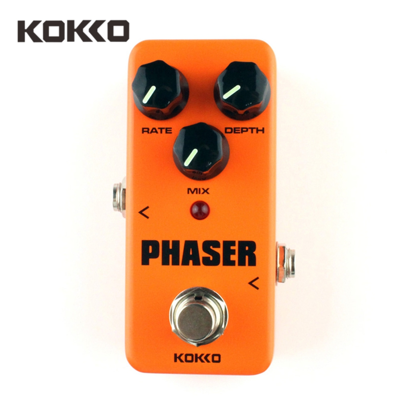 kokko fph2 phaser mini effect guitar pedal analog phaser guitar effects rate mix depth control. Black Bedroom Furniture Sets. Home Design Ideas