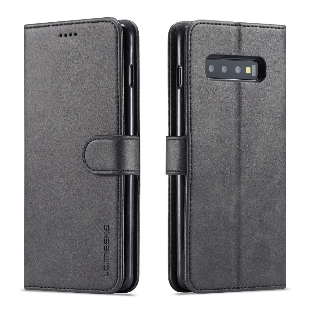 Leather Flip Case Cover For Samsung Galaxy S10 S10E S10Lite