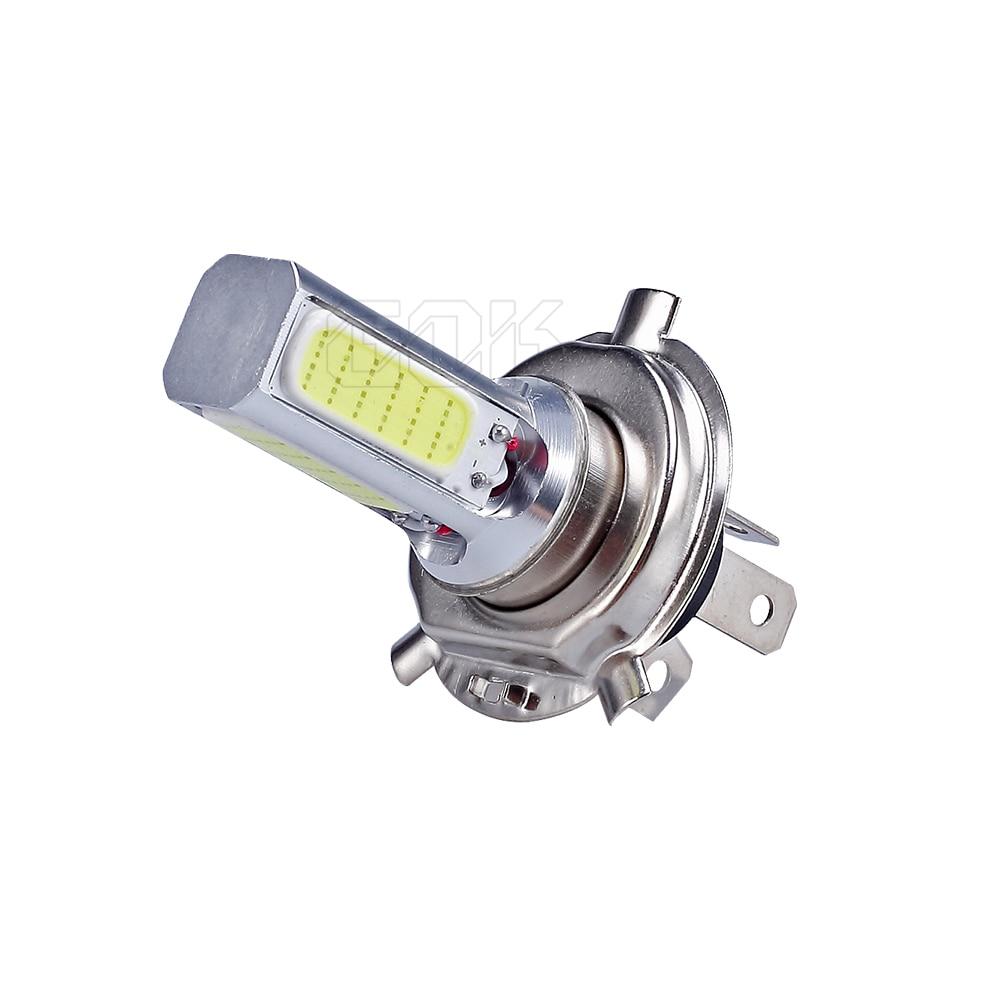 50X автомобиля светодиодный H4 H7 H11 9006 9005 cob высокой Мощность туман лампы 20 W H4 удара светодиодный автомобиля Мотоцикл светодиодная подсветка для машины туман лампа