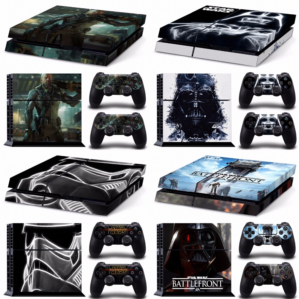 Darth vader call of duty battlefront nuka cola ps4 skin sticker for sony playstation 4 sticker wrap decal