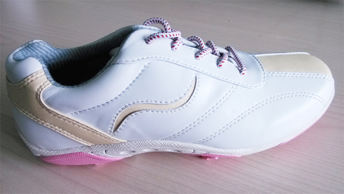 B&G New Technology Material White Women Golf Shoes