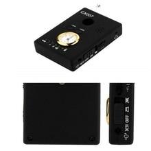 Free Shipping Multi Wireless Radio Wave Signal RF GSM Device Spy Pinhole Hidden Camera Lens Sensor Scanner Detector Finder CX007