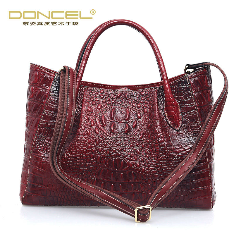 где купить Designal handbags high quality real cow genuine leather shoulder crossbody bags for women european and american casual tote bag дешево