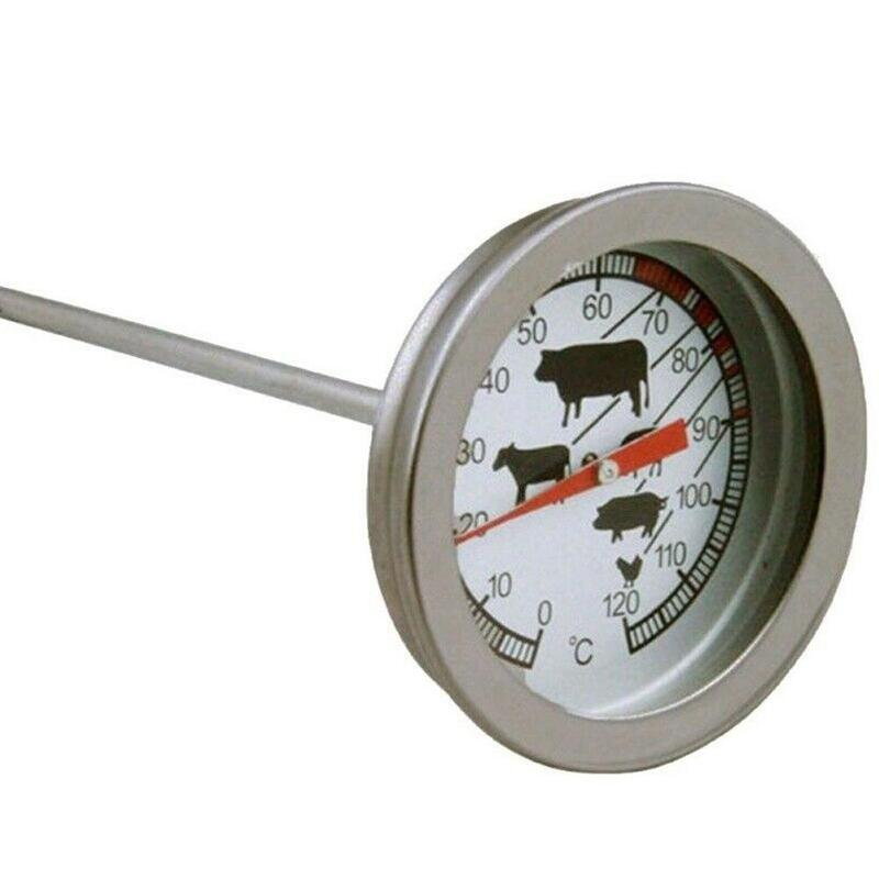 Coffee Milk Thermometer Beef Barbecue Bbq Thermometer 0-120 Degree Food Special Probe Type Temperature Measuring Tool(China)
