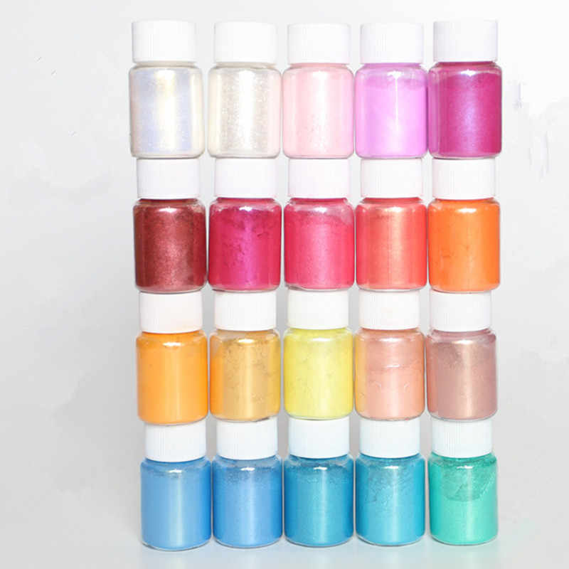 water sprite glue drop glitter powder /Mineral Mica Powder DIY For Soap Dye Soap Colorant makeup Eyeshadow Soap Powder