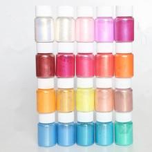 купить water sprite glue drop glitter powder /Mineral Mica Powder DIY For Soap Dye Soap Colorant makeup Eyeshadow Soap Powder по цене 905.97 рублей