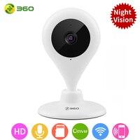 360 Wifi IP Camera 720P Night Wireless Smart Mini Home Camera Vision 2-Way Audio Webcam Video Monitor [International Edition]