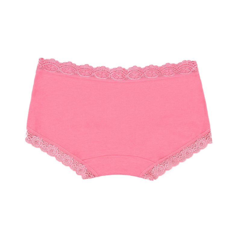 women multi-colors quality panties, womens underwear Hot sale Cotton with Lace Side best quality seamless sexy mid waist plus