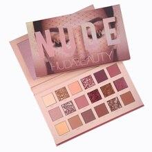 Hudas Beauty Makeup Set Professional Natural Matte Eyeshadow Palette 18 Colors Hudass Nude
