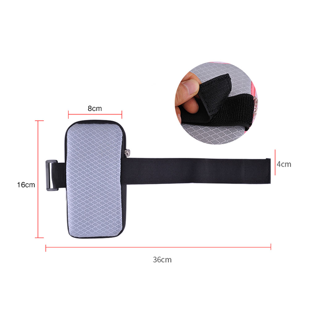Arm Bag for Phone with Headset Hole