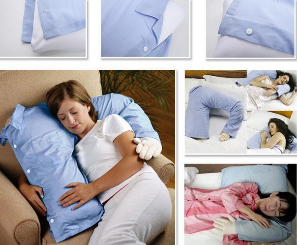 Fashion Boyfriend Arm Soft Throw Pillow Body Hug Washable Girlfriend Cushion Bed girls birthday pillow male friend 396g - Happy-Life store