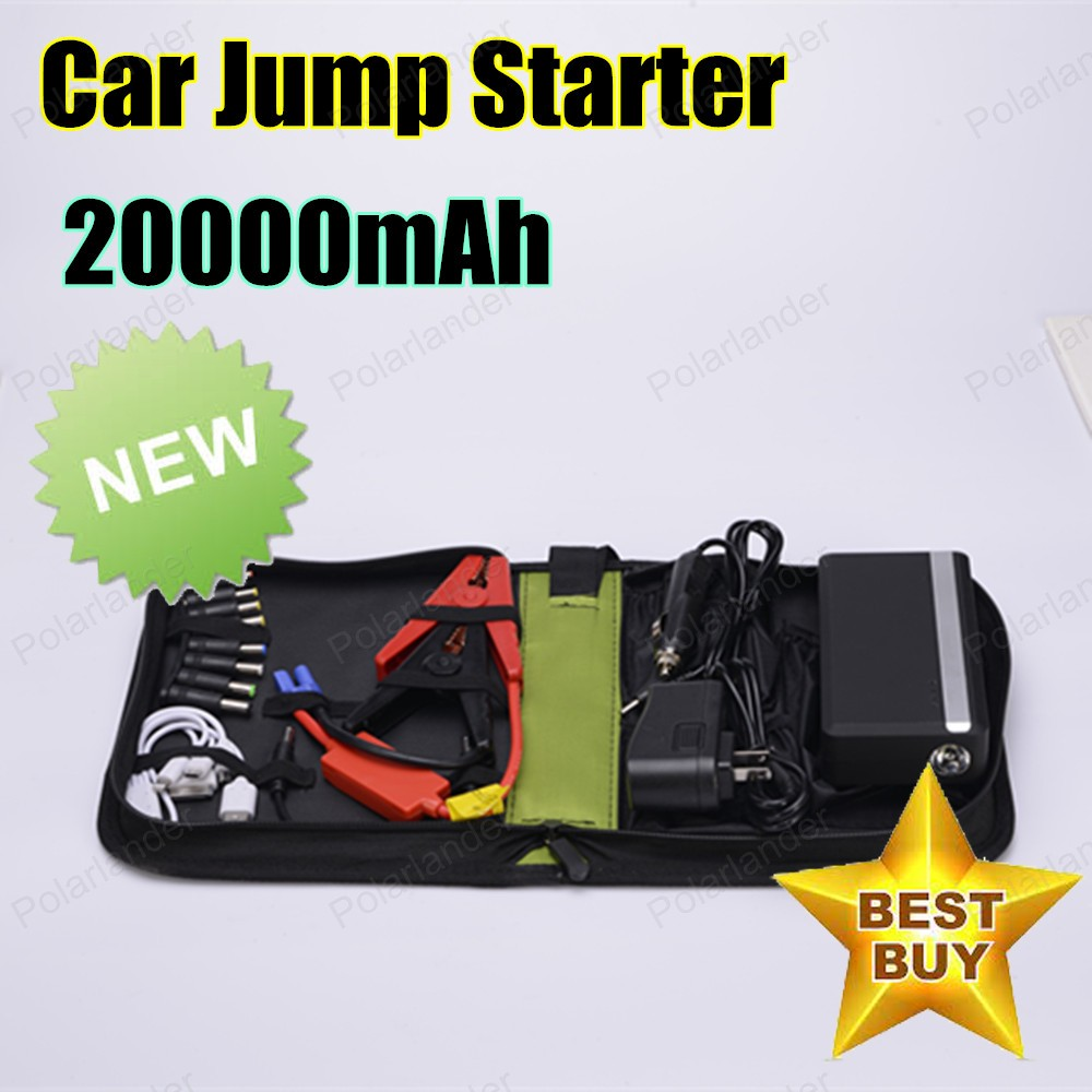 ФОТО  2016 New Ultra-thin 20000mAh Car Emergency Starting Power Multi-function Jump Starter Car Emergency Power Bank Battery Charger