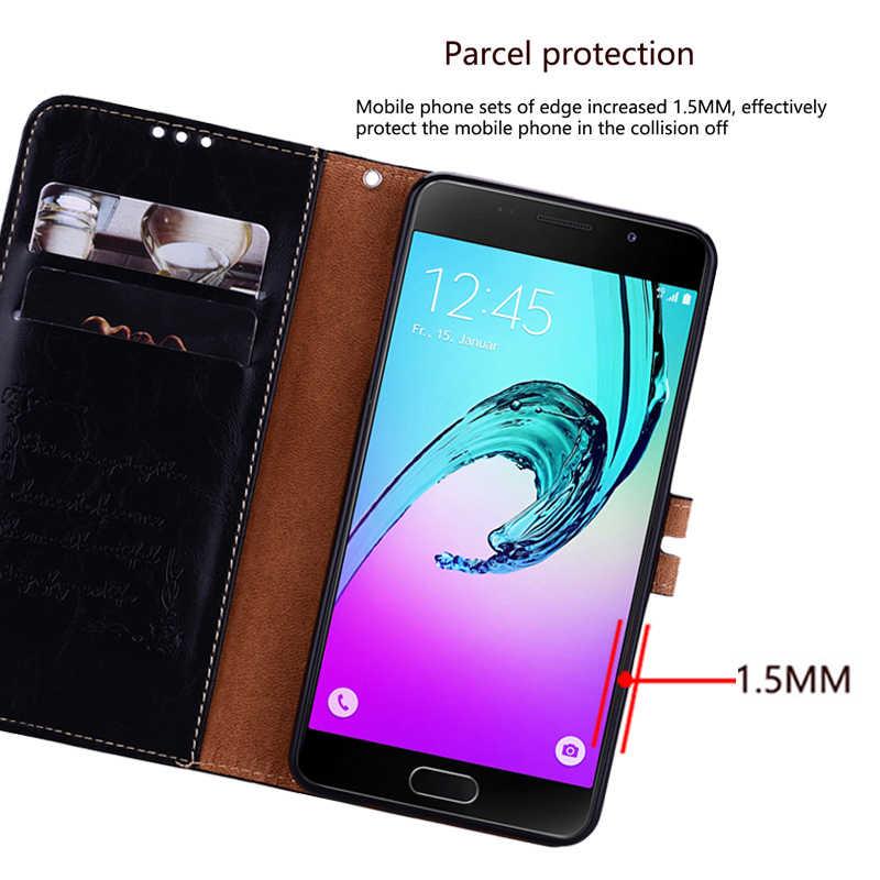 Кожаный чехол с откидной крышкой чехол для телефона для samsung Galaxy A9 A8 A7 A6 A5 A3 2018 2017 2016 S9 S8 S10e S10 плюс S7 S6 Edge Note 8, 9, 10, 5 г
