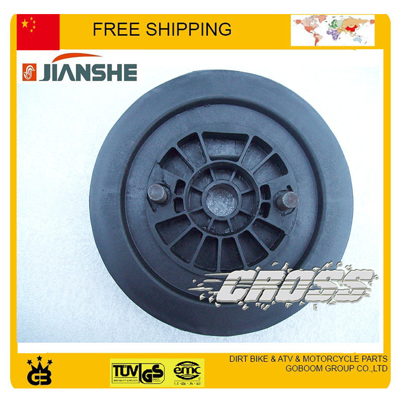 Pull Starter Roller Plate Driving Disc Jianshe Engine 400cc ATV Parts Accessories Free Shipping