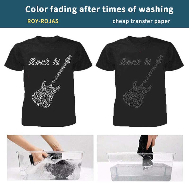 A4 透明熱熱転写紙レーザー昇華紙 Tシャツ DIY インクジェットプリンタデカール紙クリアアート用品