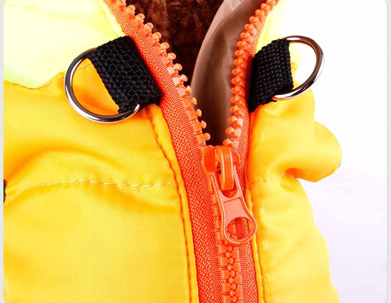 Popular Color Blocking Pet Apparel Dog Clothes Winter Puppy Dogs Vest Cotton-padded Jacket Coat for Chihuahua Teddy Poodle8