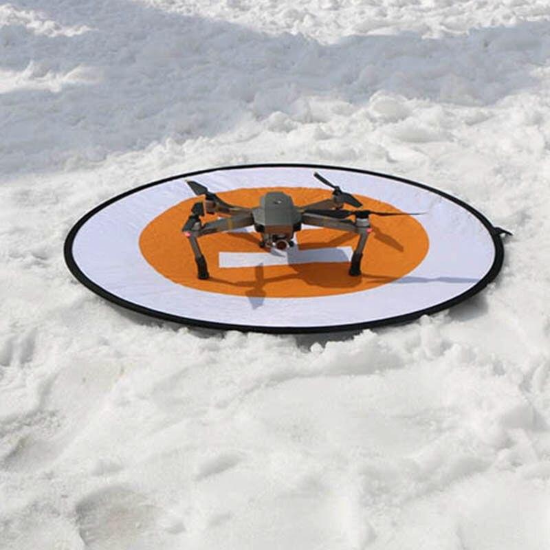 80cm Helipad for DJI Mavic Pro DJI Spark Phantom 2 3 4 Inspire 1 2 Drone Landing Pad Foldable Parking Apron  Accessories drone helipad