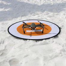 80 см Вертолетная площадка для dji Мавик Pro DJI Spark Phantom 2 3 4 вдохновлять 1 2 Drone посадка площадку складной парковка фартук Интимные аксессуары