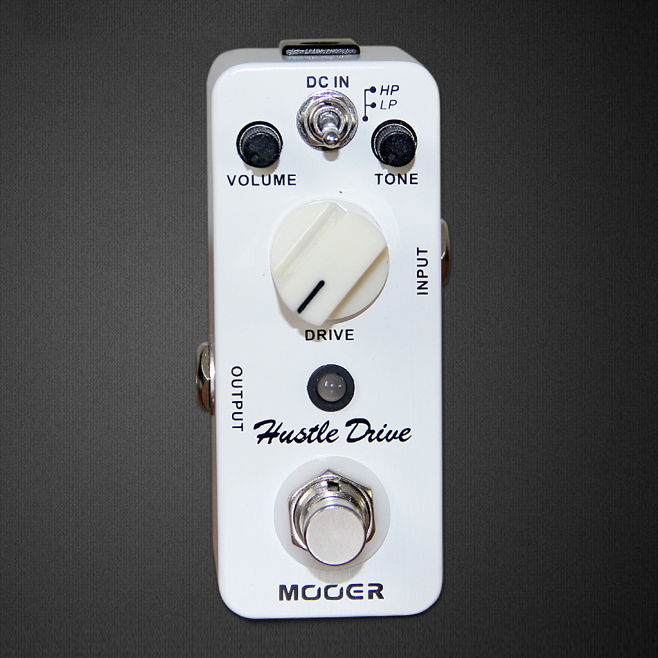 NEW Effect Pedal /MOOER Hustle Drive Distortion Pedal True bypass Excellent sound new aroma ahor 3 holy war metal distortion mini analogue effect true bypass