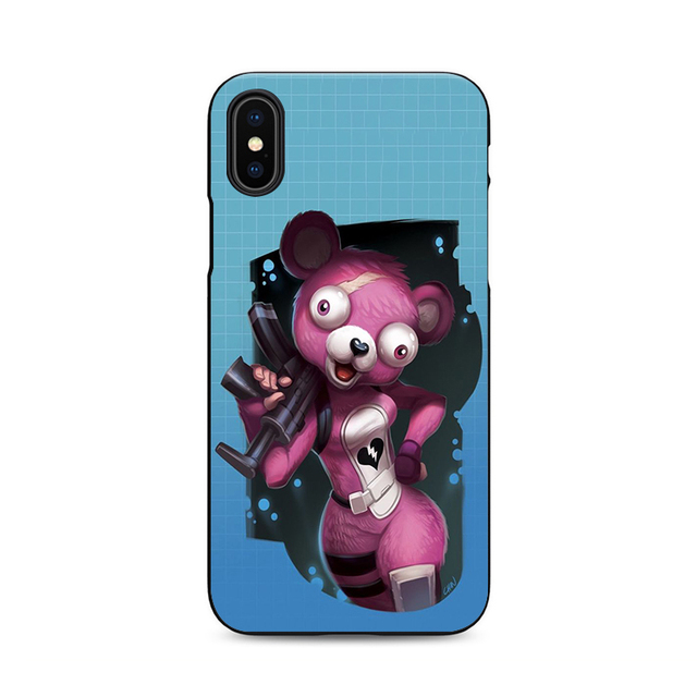 the latest 50311 436ae Fortnite Cuddle Team Leader iPhone X 8 7 6 5 Phone Cases