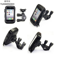 Universal Motorcycle Phone Holder With Waterproof Case Mobile for Smartphone iphone 6 6s plus Galaxy