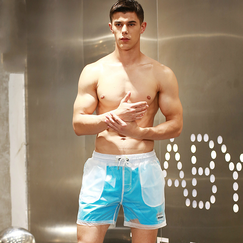2019 brand open Cool Mens summer bathing suit quick dry Sexy nylon surfing   board     shorts   swimsuit liner beach   shorts   for sport