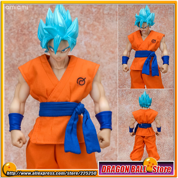 Japan Anime Dragon Ball Super Original MegaHouse MH Dimension of DRAGONBALL / D.O.D Complete Figure - SSGSS Son Goku