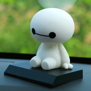 Cartoon Plastic Baymax Robot S