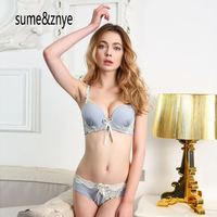 Manufacturers Selling Lace Butterfly Bra Lady Sexy Underwear Bra Set Adjustment Type Gather
