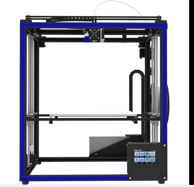 все цены на 3D printer large size DIY kit high precision quasi-industrial grade consumer and commercial design X5SA