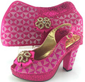 2016 new arrival fashion Italian shoes with matching bags set for wedding and party African shoes and bag sets!!MJY1-37