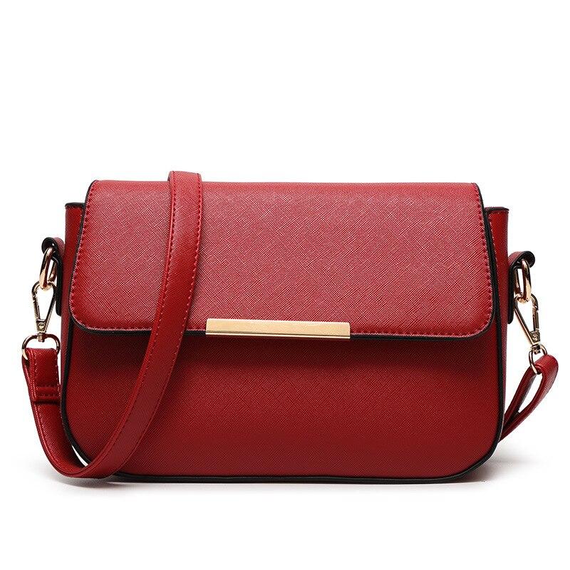 Top-handle Bags Luggage & Bags Fashion Women Handbags Small Pu Leather Ladies Bags Famous Designer Brand Handbag Black Female Purse Women Shoulder Bag Cymka