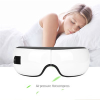 Foldable Bluetooth Electric Eye Massager Air Pressure Hot Compress Massage Eye Care Stress Relief Remove Eye Wrinkles goggles 49