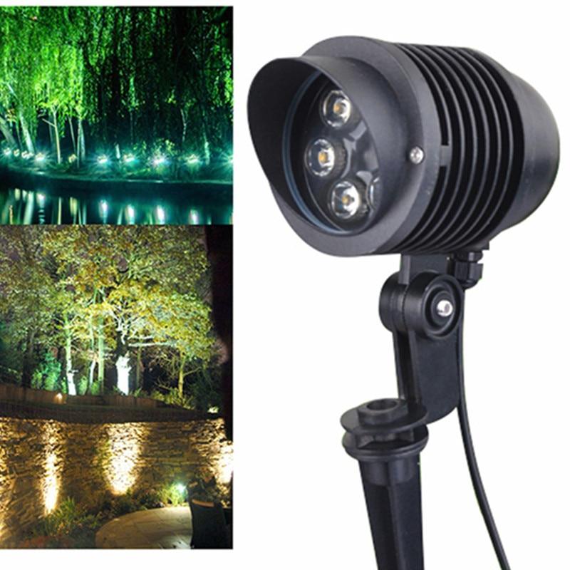 New Arrival 6x1W Waterproof spike Landscape led light Landscape Spot Light IP65 outdoor Landscape led spike light for garden