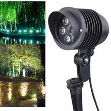 New Arrival 6x1W Waterproof spike Landscape led light Spot Light IP65 outdoor for garden