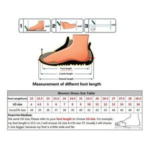 Image 5 - Женские ботильоны на шнуровке, Осенняя обувь из натуральной кожи, Нескользящие ботинки на резиновой подошве, 2018(9738)