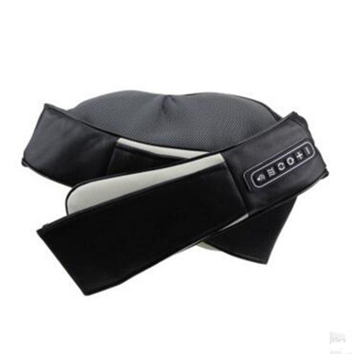 Angelruila U Shape Car/Home Neck Massager Electrical Shiatsu Shoulder Back Body Massagers Infrared 4D Massagem Flat EU Plug 4d massager