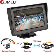"""Автомобильный монитор 4,"""" экран для камеры заднего вида TFT lcd дисплей HD цифровой цветной PAL/NTSC камера заднего вида система парковки"""