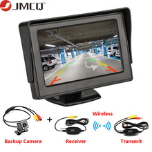 Car Monitor 4.3 Screen For Rear View Reverse Camera TFT LCD Display HD Digital Color PAL/NTSC Reverse Camera Parking System