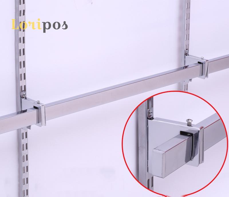 50pcs Shelf Mounting Hanger Hardware Wall Mounted Shelf Hanger Buckle Ring Metal Shelf Bracket Hanging Mounted Rack