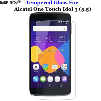 For Alcatel Idol3 5.5 Tempered Glass 9H 2.5D Premium Screen Protector Film For Alcatel One Touch Idol 3 (5.5) 6045 6045Y 6045K image