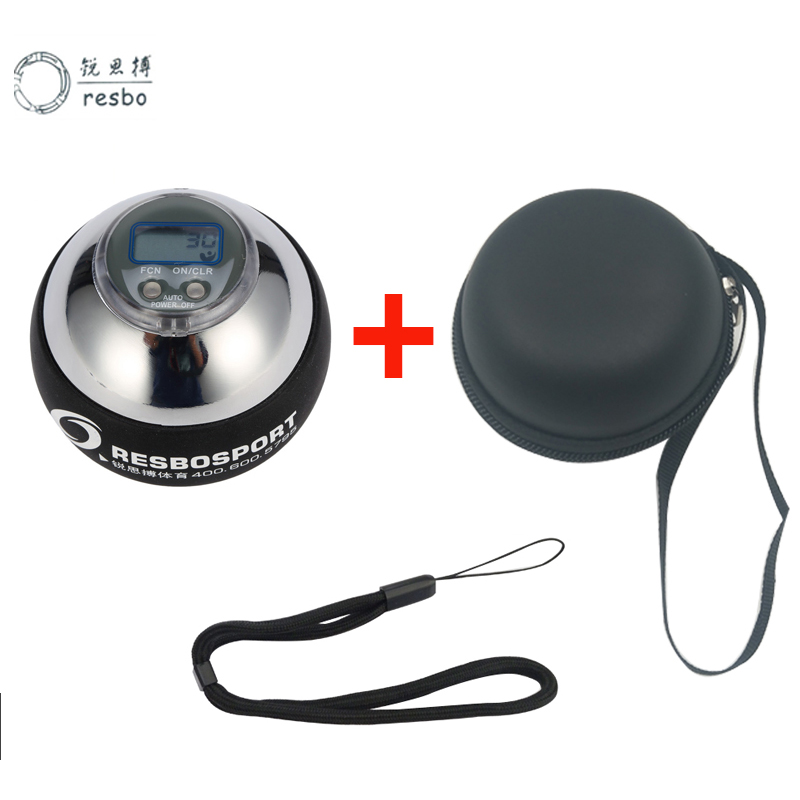 48LBS GYRO Strengthen Super Power Wrist Ball Metal Forearm Muscle Training Pressure Relieve Ball Gyroscope Force